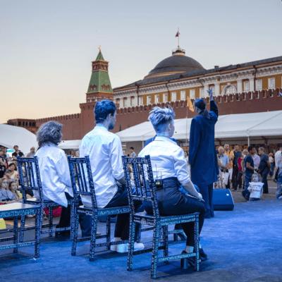 Арт-платформа #Моспродюсер на Красной площади!