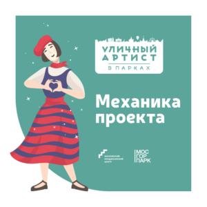 """Механика проекта """"Уличный артист в парках"""""""